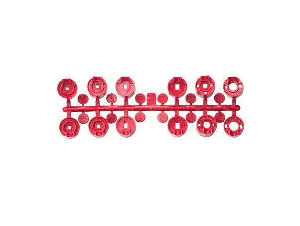 HUNTER Red Standart Nozzle Set for PGP-ADJ