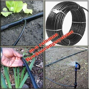 PE Pipe Dia. 12mm, 1,5 mm, 6 PN (Also for solar heating, pool heating)