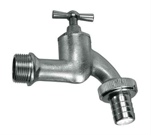 3/4-inch brass hose union bib tap with hose adaptor