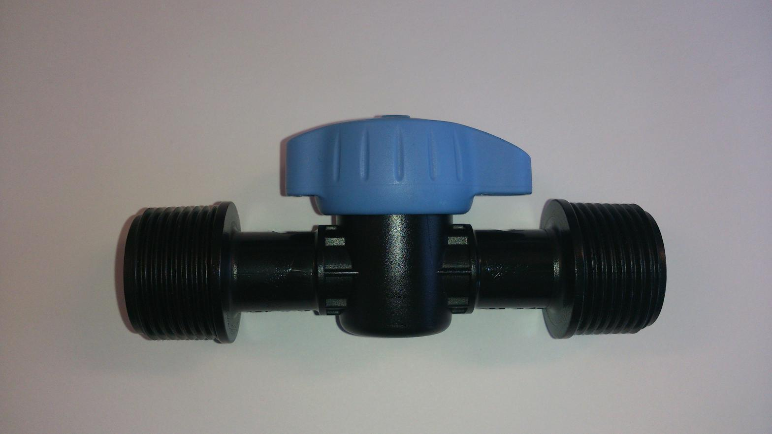 "Gate valves / ball valve SAB 3/4"" male thread x 3/4"" male thread"