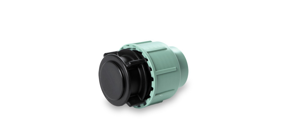 PP End plug 50 mm