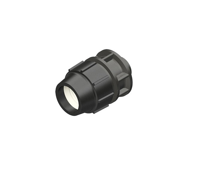 "PLASSON connector 32 mm x 3/4"", 1""IG"