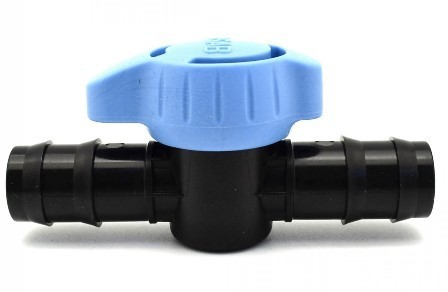 Gate valve/ ball valve 16 mm x 16 mm connector