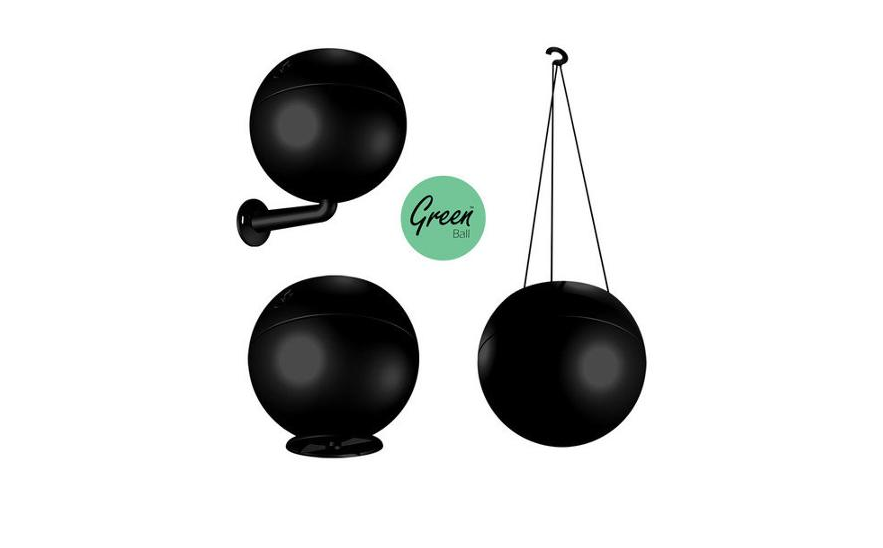 GreenBall schwarz 3 in 1 Topf